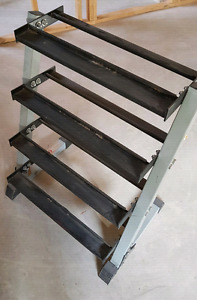 Dumbbell strong weight rack