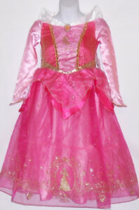 "Disney Store Princess ""Aurora"" Sleeping Beauty Costume M/7-8"