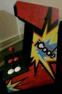 ION ICADE ARCADE CABINET FOR IPAD VIDEO GAME APP Bluetooth