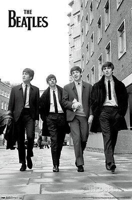 The Beatles Street Poster Print 22x34 Rock & Pop Music