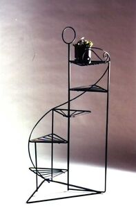 Black Staircase Plant Stand