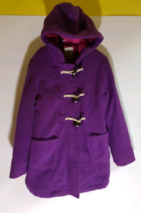 Girls Old Navy Purple Winter Jacket size 8