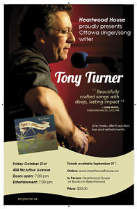 Tony Turner: Live in Concert at Heartwood House