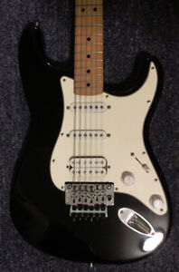 Fender stratocaster with Floyd Rose MIM