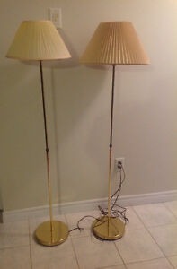 PRICE REDUCED -Floor Lamps (2)