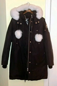 NEW! Authentic Moose Knuckles Ladies Sterling Parka, Large