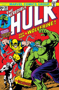 I Am Buying Incredible Hulk #181 for CASH $$$$$ 647-293-0533