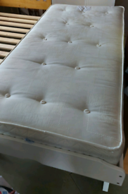 Single Guest Pull Out Bed with Mattress