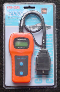 U480 DIAGNOSTIC CAN BUS OBD2 SCANNER + CODE READER - BRAND NEW !