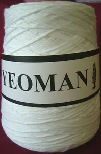 Yeoman Pure Matt Cotton Yarn DK Hand & Knitting Machine 450g Choice of Colours