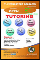 SUMMER SCHOOL AND THE TUITION SERVICES...CALL AT 905-654-4646