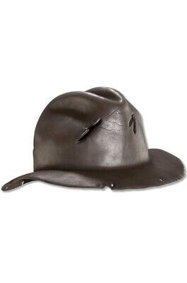 Freddy Krueger Fedora Hat (Brand New Freddy Krueger  Adult Molded Fedora Hat)