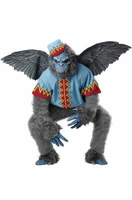 Brand New Flying Monkey Gorilla Adult Halloween Costume - Flying Monkey Costume Adult