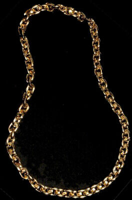 Brand New Gangster Rapper Pimp Daddy Faux Gold Chain Necklace Accessory - Pimp Daddy