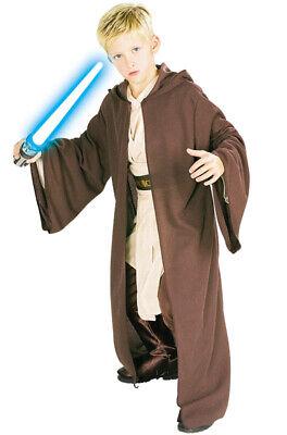 Brand New Star Wars Deluxe Hooded Jedi Robe Child Costume