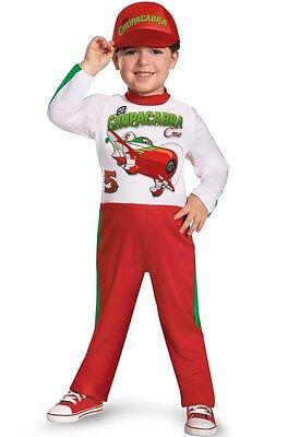 Disney Planes El Chu Kleinkind Kostüm (4-6) Jungen Piloten Overall - Kleinkind Junge Pilot Kostüm