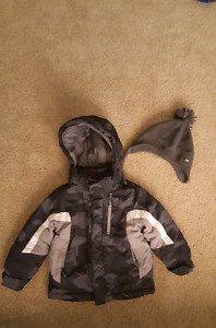 Children's Place Winter Jacket and Toque