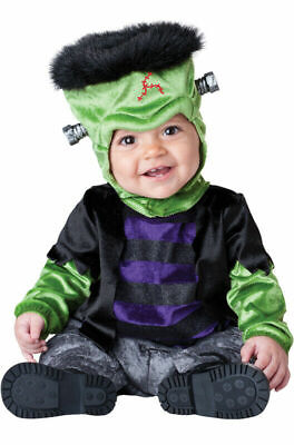 Monster Boo Baby Frankenstein Infant Cute Halloween Costume 6 - 12 Months SMALL