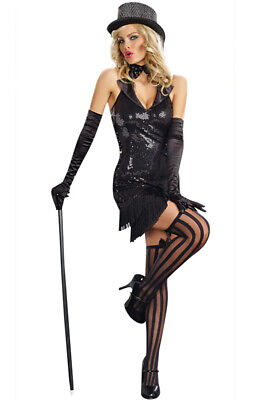 Cabaret Doll Burlesque Adult Halloween Costume](Burlesque Halloween Costumes For Women)