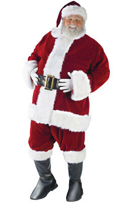 laus Suit Adult Halloween Costume (Santa Claus, Halloween Kostüm)