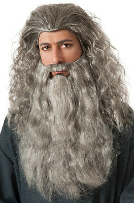 The Hobbit Gandalf Beard Kit Adult Halloween Accessory