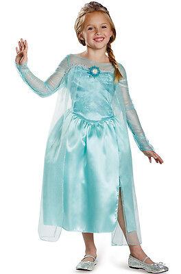 Disney Frozen Elsa Snow Queen Gown Classic Child Costume