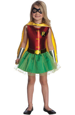 Brand New Batman Robin Girl Tutu Toddler/Child Costume - Batman And Robin Tutu Costumes