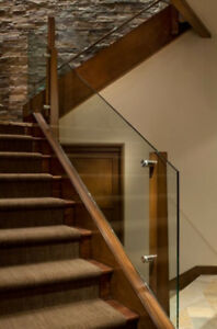 Glass Railing and Modern Stainless Steel