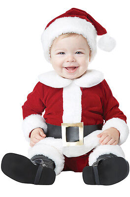 Christmas Santa Claus Suit Baby Infant - Infant Santa Suit