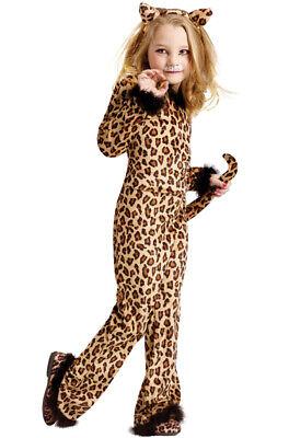 Brand New Pretty Leopard Kitty Cat Child Costume - Pretty Leopard Child Costume