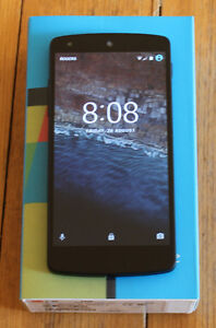 Nexus 5 Unlocked + Wind Mobile