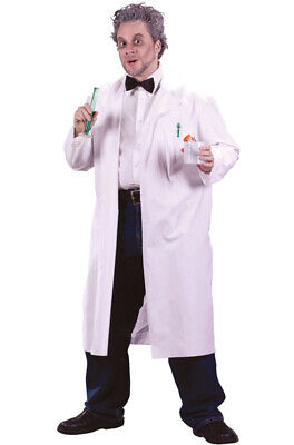 Brand New Mad Scientist Lab Coat Adult Men - Mad Scientist Coat