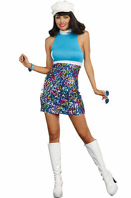 Disco 70's Shake your Groove Thang Dreamgirl Costume 8842 small, medium](Shake Costume)