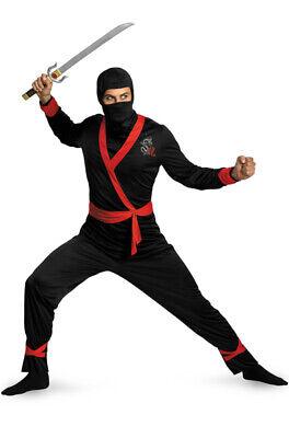 Brand New Ninja Master Adult - Ninja Master Adult Kostüm