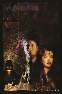 POSTER - TV : X-FILES - MULDER & SCULLY -   FREE SHIPPING ! #3385   RW15 T