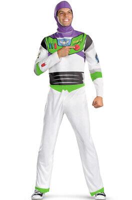 Brand New Toy Story Buzz Lightyear Classic Adult Costume - Buzz Lightyear Costumes