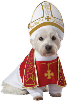 Brand New Holy Pope Hound Dog Pet Costume - Pope Dog Costume