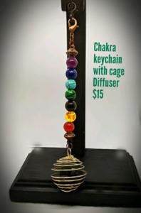 Handmade diffuser keychains
