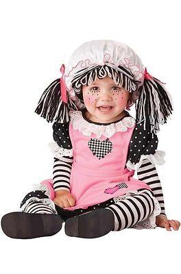 Kleinkind Babypuppe Raggedy Ann Spielzeug Kinder Halloween Kostüm - Raggedy Ann Kostüm Kinder