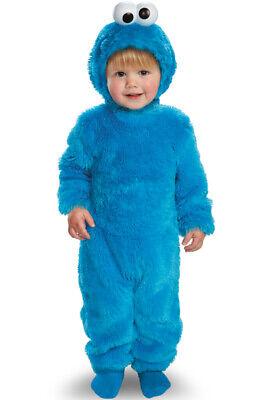 Brand New Sesame Street Light Up Cookie Monster Toddler Halloween Costume - Cookies Monster Costume
