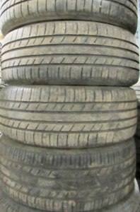 P205/55R16 Good used Tires Michelin Premier A/S These have 70% T