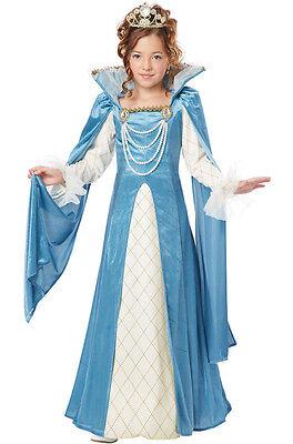 Princess Renaissance Queen Medieval Child - Renaissance Costume Kids