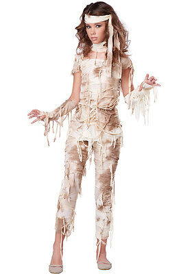Mysterious Mummy Egyptian Child Girls Tween Costume (Egyptian Costume)