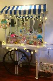 Large Candy Cart empty or stocked cater for any occasion