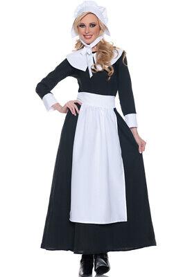 Brand New Basic Pilgrim Woman Adult Halloween Costume