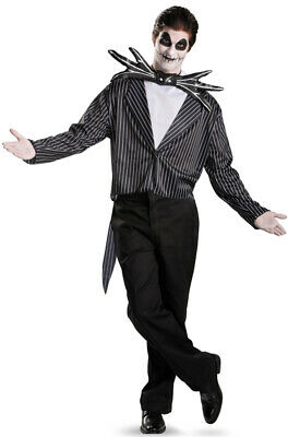 Brand New The Night Before Christmas Jack Skellington Classic Adult Costume - The Night Before Christmas Costumes