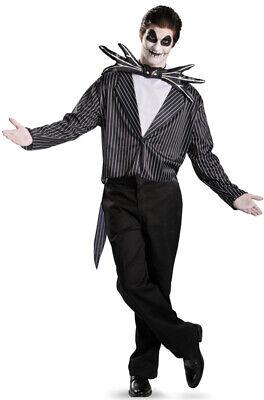 Jack Night Before Christmas Costume (Brand New The Night Before Christmas Jack Skellington Classic Adult)