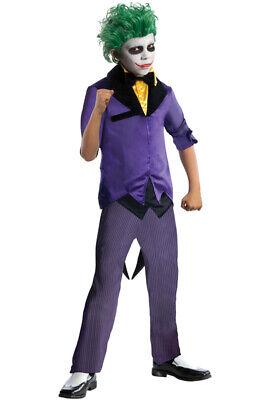 Batman The Joker Villain Child Costume - Batman Joker Kids Costume