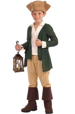 Brand New Colonial Paul Revere Child Costume (M) (Paul Revere Costume)