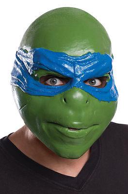 Leonardo Teenage Mutant Ninja Turtles 3/4 Costume Mask TNMT Adult Halloween Mask
